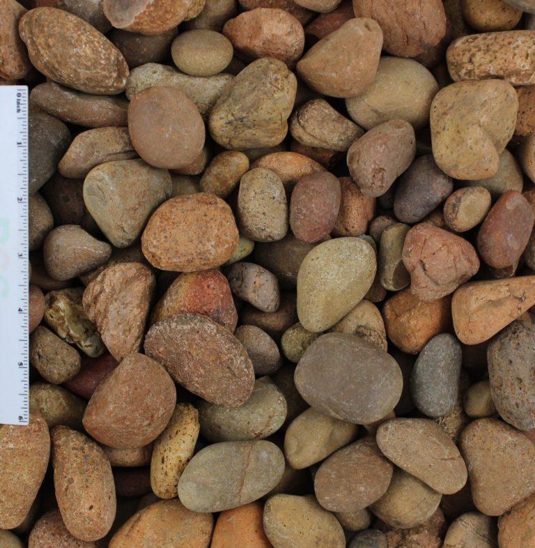 """Mexican Sunburst .5 1 Inch - Mexican Sunburst Pebbles 1/2""""-1"""""""