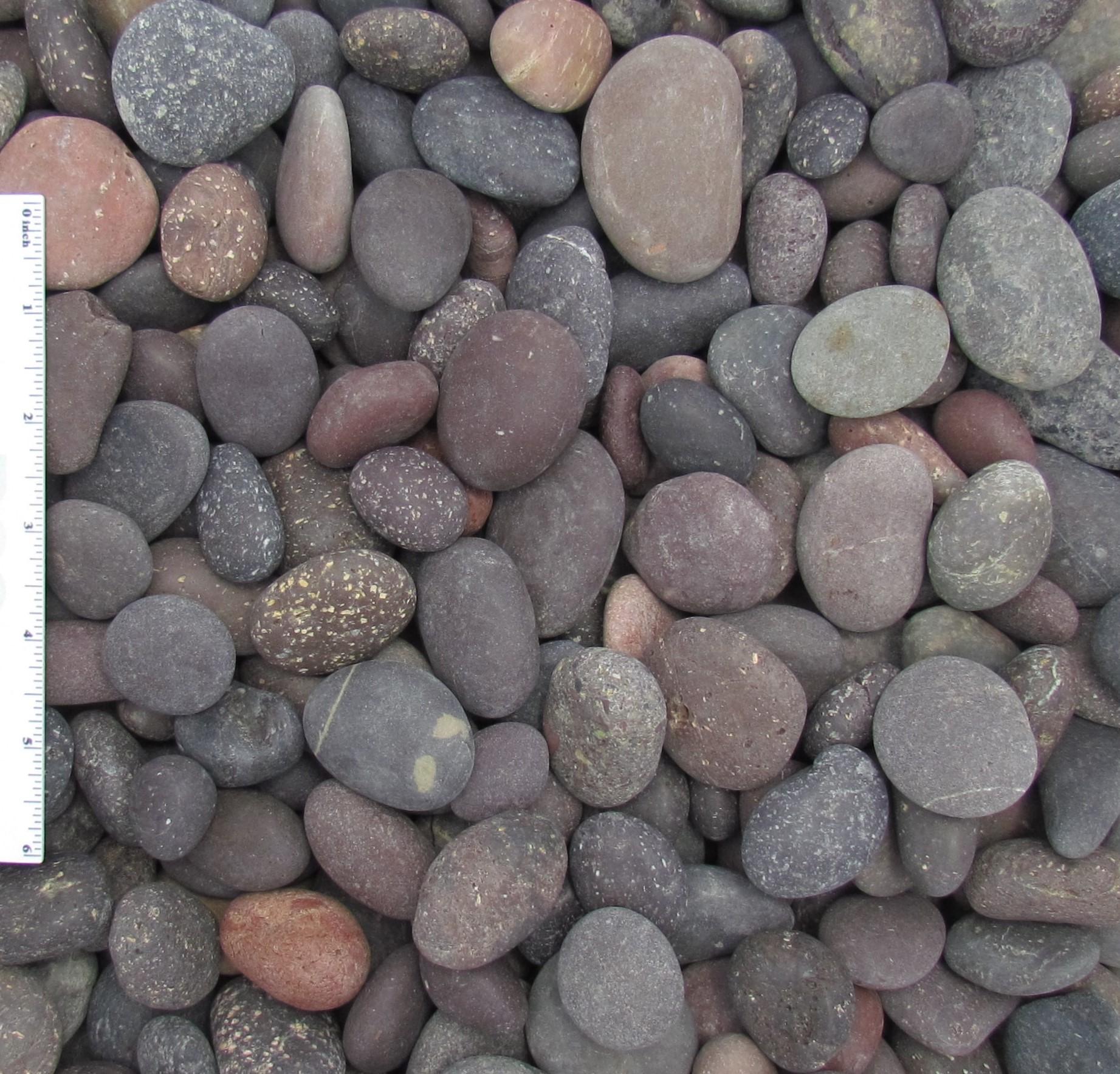 Red Beach Pebbles 1/2″-1″