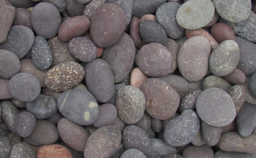 Small Round Rock Pebble Category Banner 825x510 - Red Beach Pebbles