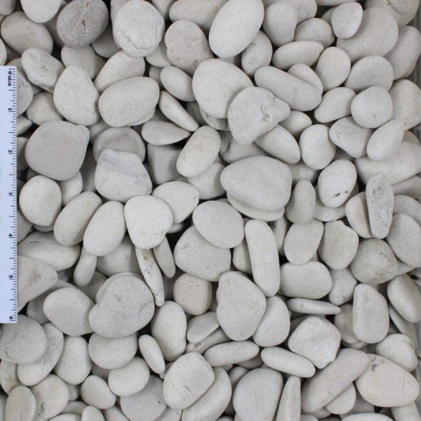 """Ivory Pebble .5 1 - Ivory Pebble 1/2""""-1"""""""