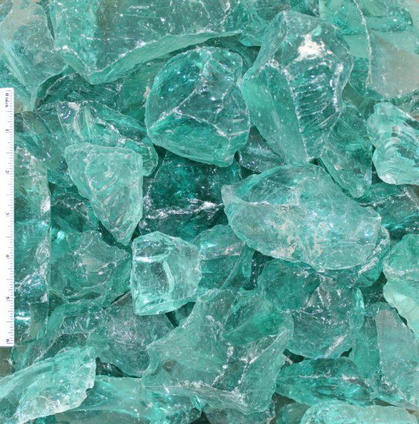 "Blue Ice Landscape Glass 2 4 - Blue Ice Landscape Glass 2""-4"""
