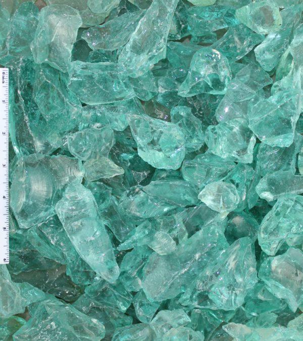 "Blue Ice Landscape Glass1 2 - Blue Ice Landscape Glass 1""-2"""