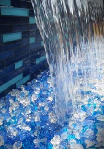 Water Feature 2 350x500 - Blue Landscape Ice Glass