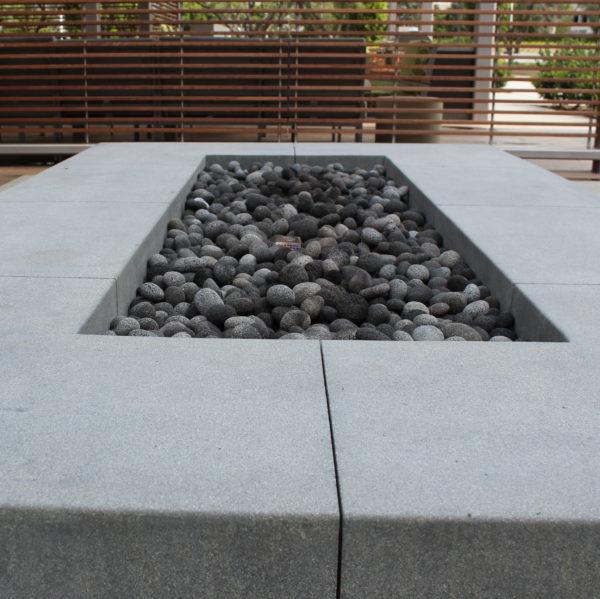 """Black Lava Pebble Fire Pit 2 e1580260828333 - Black Lava Pebble 1""""-2"""""""